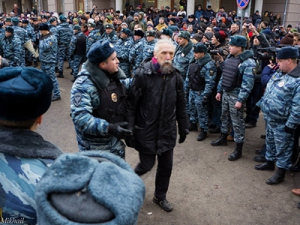 Задержание академика Фото Михаил Киросиров / Wikipedia